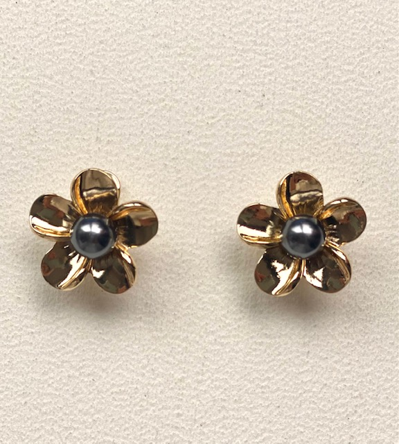 Aretes perlas hawainas