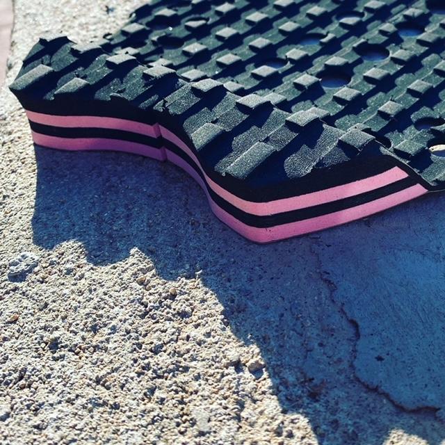 Grip 2 piezas tacón Rosa – Negro